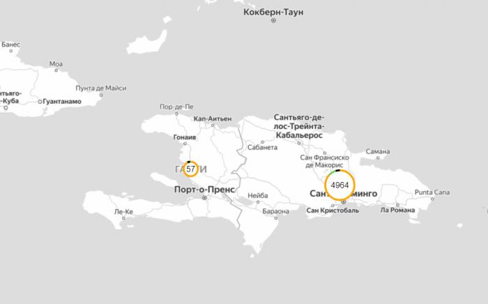 Коронавирус в Доминикане на сегодня и последние новости