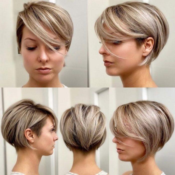 Модные стрижки на короткие волосы 2020 года, не требующие укладки