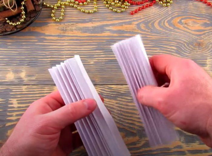 Поделки из бумаги на Новый год 2021 своими руками