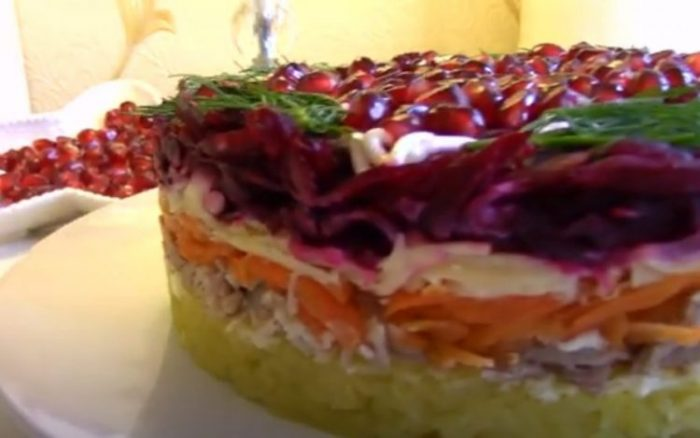 Простые и вкусные салаты на Новый год 2021
