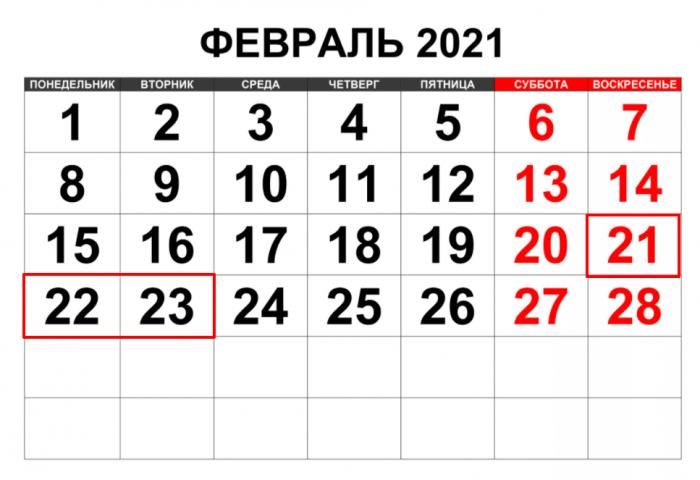 Как мы отдыхаем в феврале 2021 года